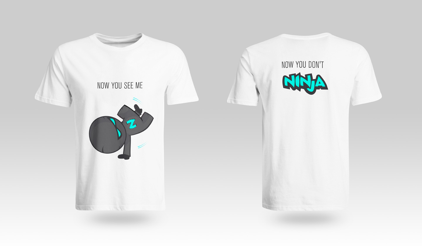 Ninja - Now you see me, now you don't